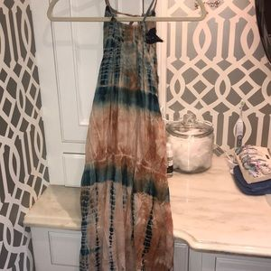 Planet Blue Blue Life maxi dress with slits